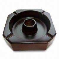 Quality Wooden Ashtray, Customized Designs are Accepted, Good Flexibility and Toughness for sale