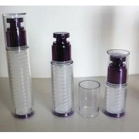 Quality 15ml 30ml 50ml  cosmetic double layer wall pp airless bottle for sale