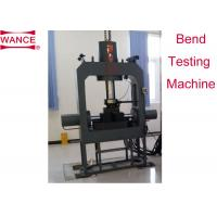 Quality High Efficiency Metal Testing Machine , Bending Test Apparatus 1/500000Force Resolution for sale