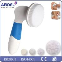China Portable Mini Facial Cleansing Power Brush , Battery Operated Sonic Skin Care Brush on sale