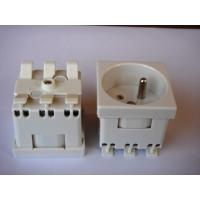 Quality Grounding French Electric Plug , Safety France Power Outlet For Wall Wholesale for sale