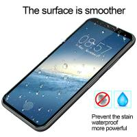 Quality IPhone X Fingerprint Proof Screen Protector Tempered Glass 99% HD Clarity for sale