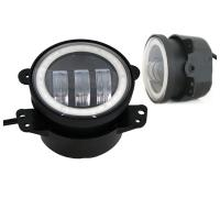 Quality 4 Inch Day Running Jeep Car LED Fog Lights 6500K DOT SAE Approved for sale