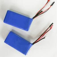 Quality High quality 7.4v 2600mah li polymer battery 2s lipo battey pack for sale