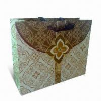 Quality Recycled Paper Shopping Bag with PP Handle, Made of Art and Ivory Board, Eco-friendly for sale