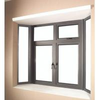 Quality 6060 Aluminum Window Extrusion Profiles For Side Hung Opening Casement Window for sale