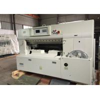 Quality single hydraulic Worm gear drive Double guide guillotine paper cutting machine for sale