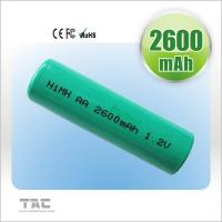 China Rechargeable Ni MH Batteries Ready To Use 2700mAh 1.2V For Electrical Remote on sale