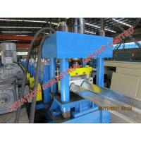 Quality W Beam Safety Barrier / Highway Guardrail Roll Forming Machine With Puncher / Cutter for sale