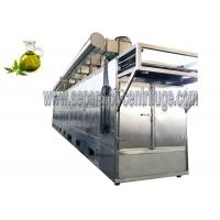 Quality Durable Industrial Conveyor Belt Dryer Machine  Continuous Tunnel Dryer For Hemp Leaves for sale