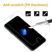Quality Easy Installation iPhone Tempered Glass Screen Protector Shatter Proof 9H Hardness for sale
