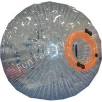 China Giant Glass Ball Inflatable Zorb Ball Soccer , Transparent Color on sale