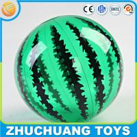 Quality pvc inflatable watermelon print water balloon for sale