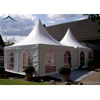 Quality Portable But Durable Pyramid Pagoda Tents / Aluminium Frame/ PVC Fabric Covers for sale