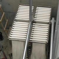 Buy grey water recycling clean flux PVDF Hollow fiber membrane for MBR system 10-Co at wholesale prices