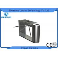 Quality Magnetic Mechanism Tripod Turnstile Gate Full RFID Access Control 35 Persons / Min for sale
