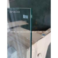 Quality 8mm tempered  glass door , 8mm toughened glass door with ISO9001, CE, Australia  AS/NZS 2208 Certificate for sale