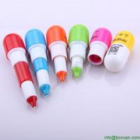China gift retractable mini ball pen for promotion, free gift advertising pen factory selling on sale