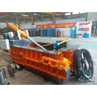 Quality Durable Baling Press Machine , Scrap Metal Baler 125 Tons Baling Force for sale