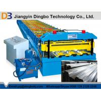 Buy cheap High Efficiency Floor Deck Roll Forming Machine Durable Punching Metal Cr12 from wholesalers