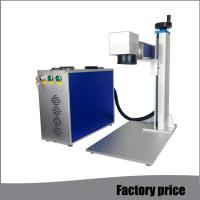 Quality Metal Fiber Mini Laser Marking Machine EZCAD Software Low Power Consumption for sale