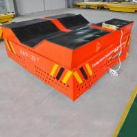 Quality V-deck Groove Cement Plant Steerable Trackless Vehicle for sale