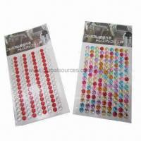 Quality Crystal stickers for car decoration, OEM designs are welcome for sale