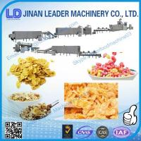 China Breakfast Cereal Corn Flake Processing Machine corn snack puffing machine on sale
