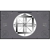 Quality 3nh TE128 D TRANSPARENCY high resolution non-broadcast cameras ITE HIGH RESOLUTION CHART 16:9 for sale