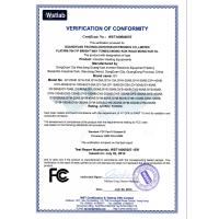 GuangYuan Inverter Electronic Equipment Factory Certifications