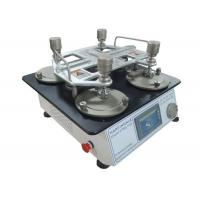 Quality ISO 12945-2 ASTM D4966 Textile Testing Equipment Martindale Abrasion And Pilling Tester for sale