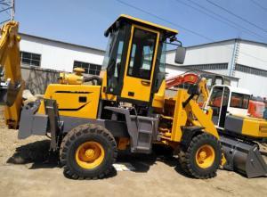 Quality 50hp Mini Tractor Backhoe Loader , 3t Front End Loader Backhoe for sale