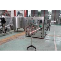 Quality Glass Bottle Capping And Labeling Machine , Liquid Filling And Capping Machine for sale