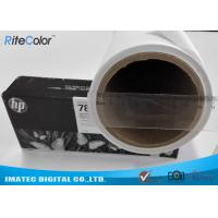 Quality Latex Ink Printing Matte Polyester Canvas 260GSM Brighter White Surface No Cracking for sale