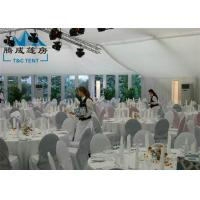Quality 10x18M New Design Marquee Party Tent With ABS Walls / Steel Panel Walls for sale