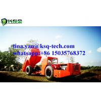 Quality RT-20 Low Profile Dump Truck For Tunneling Rock Excavation With 10m3 Capacity for sale