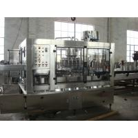 Quality SUS304 Hot Filling Machine / PET Bottle Filler Machine ISO SGS Certificated for sale