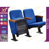 Quality Small And Economic Church Hall Chairs With 87cm Height Back Rest For Church Project for sale