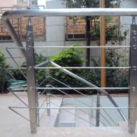 Quality Best Quality s.s Solid Rod Bar Railing Price / Balcony Stainless Steel Rod Bar Railing Design for sale