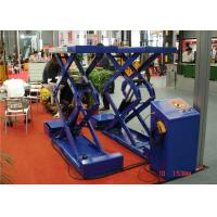 Buy OEM Fixed Hydraulic Scissor Lift Platform , Car Scissor Lift For Warehouse at wholesale prices