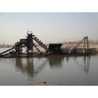 Quality Easy Operation Bucket Chain Dredger Quick Return For River Sand Dredging for sale