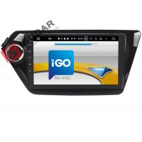 Quality Black Android Car Navigation System Kia Rio Car Stereo With Bluetooth And Gps And Backup Camera for sale