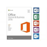 China Genuine Key Card Microsoft Office 2016 Pro Plus Retail Box With 3.0 Usb on sale
