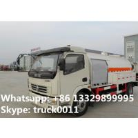 Quality 5500L capacity 2.3 ton 4*2 DONGFENG right hand drive mini lpg dispensing truck for sale, lpg dispensing truck for sale for sale