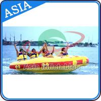 Quality 4 Seats Bali Rolling Donut Inflatable Boats Rider For Water Sport Games for sale