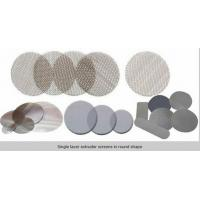 Quality Circle extruder  screens in single or multilayer keep particles out/filter disc mesh for sale