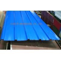 Buy Color Coated Prepainted Galvanized Corrugated Steel Sheet / Plate SGCC, DX54D+Z, at wholesale prices