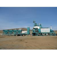 Quality 1000KG Mixer Portable Batch Plant , Bitumen Production Plant 0.5% High Weighing Accuracy for sale