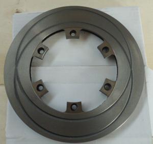 Quality Go Kart Brake Parts with Cast iron  / go kart disc brake system 1050g for sale