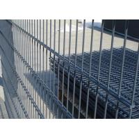 Quality Galvanized / PVC Coated Steel Wire Fencing , Double Wire Mesh Fence For Garden for sale
